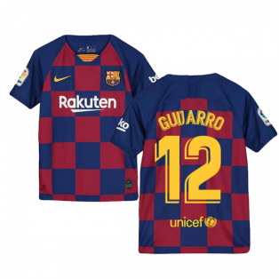 2019-2020 Barcelona Home Nike Shirt (Kids) (Guijarro 12)