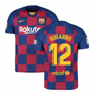 2019-2020 Barcelona Home Nike Football Shirt (Guijarro 12)