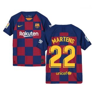 2019-2020 Barcelona Home Nike Shirt (Kids) (Martens 22)