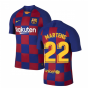 2019-2020 Barcelona Home Vapor Match Nike Shirt (Kids) (Martens 22)
