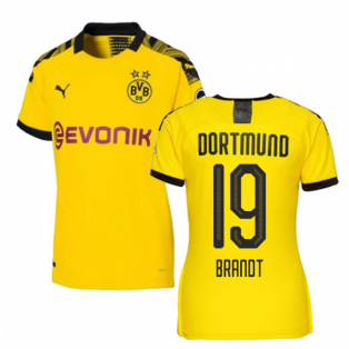 2019-2020 Borussia Dortmund Home Ladies Puma Shirt (Brandt 19)