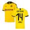 2019-2020 Borussia Dortmund Home Puma Shirt (Kids) (Schulz 14)