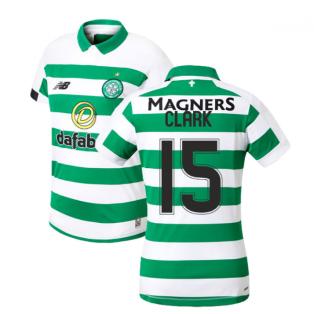 2019-2020 Celtic Home Ladies Shirt (Clark 15)
