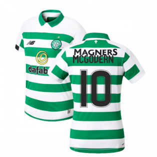 2019-2020 Celtic Home Ladies Shirt (McGovern 10)