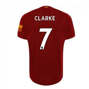 2019-2020 Liverpool Home Football Shirt (Clarke 7) - Kids