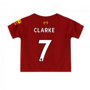 2019-2020 Liverpool Home Little Boys Mini Kit (Clarke 7)