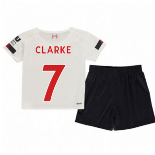 2019-2020 Liverpool Away Little Boys Mini Kit (Clarke 7)