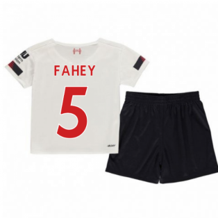 2019-2020 Liverpool Away Little Boys Mini Kit (Fahey 5)