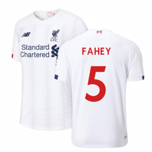 2019-2020 Liverpool Away Football Shirt (Kids) (Fahey 5)