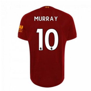 2019-2020 Liverpool Home Football Shirt (Murray 10)