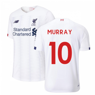 2019-2020 Liverpool Away Football Shirt (Murray 10)