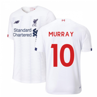 2019-2020 Liverpool Away Football Shirt (Kids) (Murray 10)