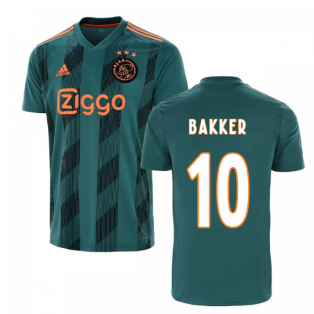 2019-2020 Ajax Adidas Away Shirt (Kids) (Bakker 10)