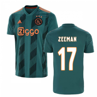 2019-2020 Ajax Adidas Away Football Shirt (Zeeman 17)