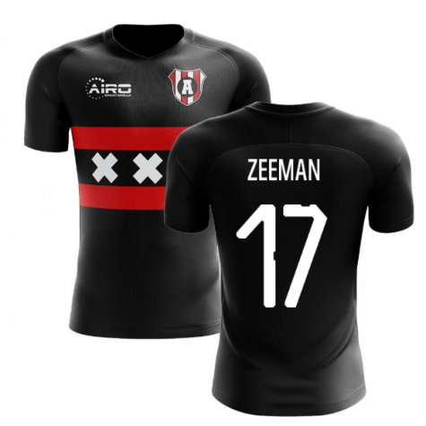 2020-2021 Ajax Away Concept Football Shirt (Zeeman 17)