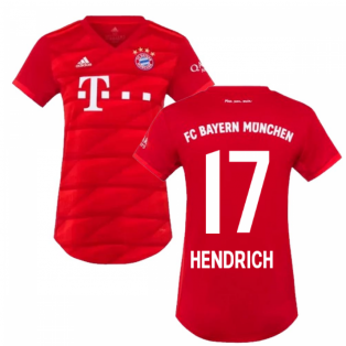 2019-2020 Bayern Munich Adidas Home Womens Shirt (Hendrich 17)