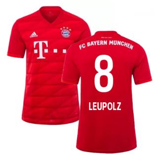 2019-2020 Bayern Munich Adidas Home Football Shirt (Leupolz 8)