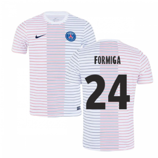 2019-2020 PSG Nike Pre-Match Training Shirt (White) - Kids (Formiga 24)