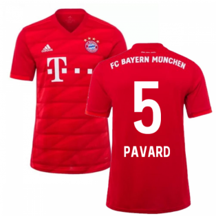 2019-2020 Bayern Munich Adidas Home Football Shirt (Pavard 5)