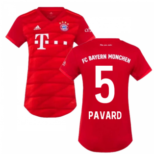 2019-2020 Bayern Munich Adidas Home Womens Shirt (Pavard 5)