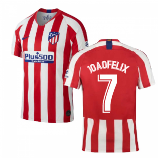 2019-2020 Atletico Madrid Home Nike Shirt (Kids) (Joao Felix 7)