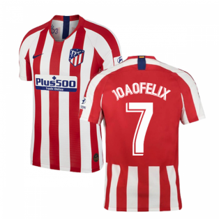2019-2020 Atletico Madrid Vapor Match Home Shirt (Joao Felix 7)