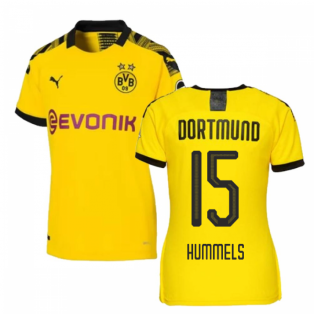 2019-2020 Borussia Dortmund Home Ladies Puma Shirt (Hummels 15)