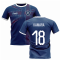 2019-2020 Glasgow Home Concept Football Shirt (Kamara 18)
