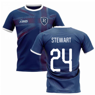 2019-2020 Glasgow Home Concept Football Shirt (Stewart 24)