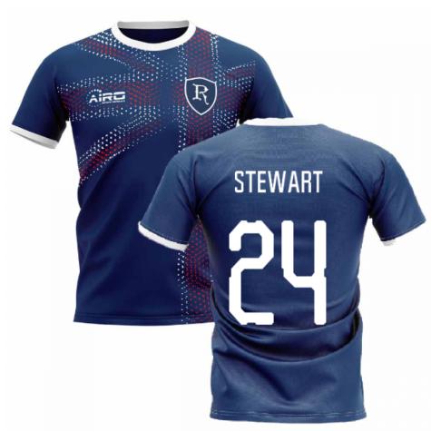 2019-2020 Glasgow Home Concept Football Shirt (Stewart 24)