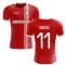 2020-2021 Aberdeen Home Concept Football Shirt (Hedges 11)