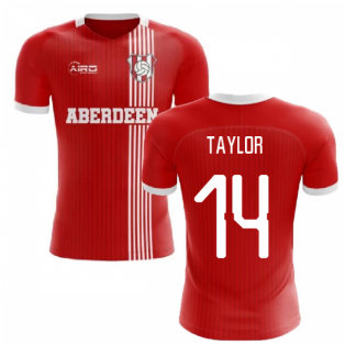 2019-2020 Aberdeen Home Concept Football Shirt (Taylor 14)