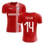 2019-2020 Aberdeen Home Concept Football Shirt (Taylor 14)