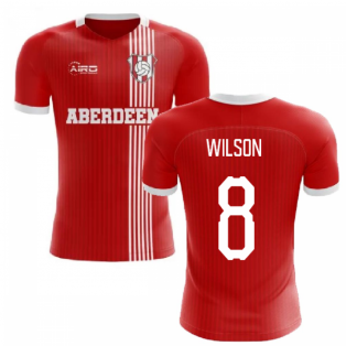 2019-2020 Aberdeen Home Concept Football Shirt (Wilson 8)