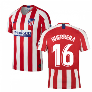 2019-2020 Atletico Madrid Home Nike Shirt (Kids) (H Herrera 16)