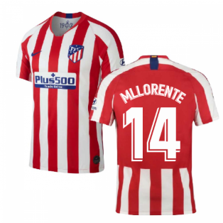 2019-2020 Atletico Madrid Home Nike Shirt (Kids) (M Llorente 14)