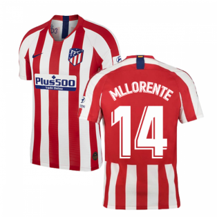 2019-2020 Atletico Madrid Vapor Match Home Shirt (M Llorente 14)