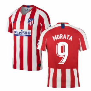 2019-2020 Atletico Madrid Home Nike Shirt (Kids) (Morata 9)
