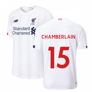 2019-2020 Liverpool Away Football Shirt (Kids) (Chamberlain 15)