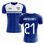 2019-2020 Everton Home Concept Football Shirt (Andre Gomes 21)