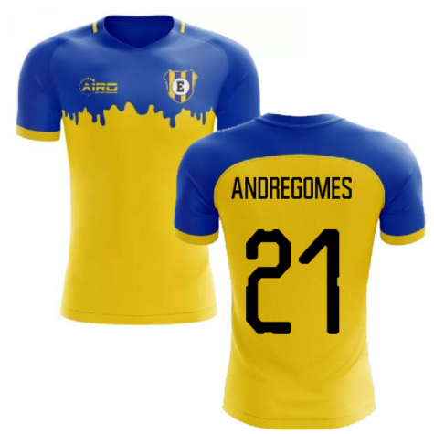 2019-2020 Everton Away Concept Football Shirt (Andre Gomes 21)