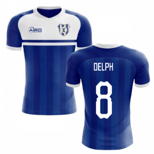 2020-2021 Everton Home Concept Football Shirt (Delph 8)