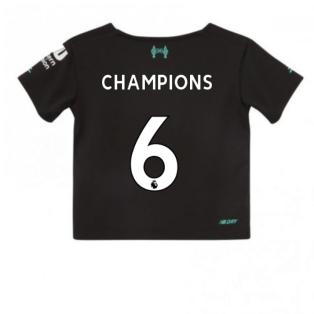 2019-2020 Liverpool Third Little Boys Mini Kit (Champions 6)