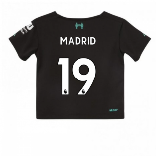 2019-2020 Liverpool Third Little Boys Mini Kit (Madrid 19)