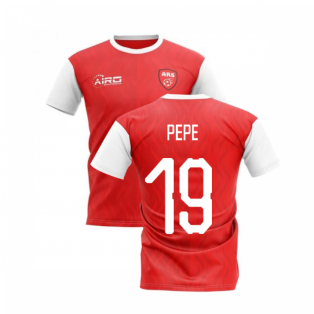 2019-2020 North London Home Concept Football Shirt (Pepe 19)
