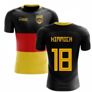 2018-2019 Germany Flag Concept Football Shirt (Kimmich 18) - Kids