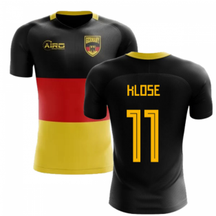 2018-2019 Germany Flag Concept Football Shirt (Klose 11) - Kids