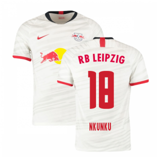 2019-2020 Red Bull Leipzig Home Shirt (Nkunku 18)