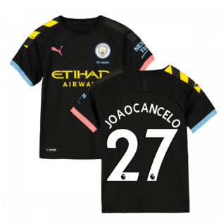 2019-2020 Manchester City Puma Away Football Shirt (Kids) (Joao Cancelo 27)