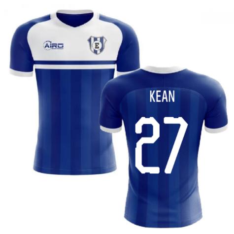 2019-2020 Everton Home Concept Football Shirt (Kean 27)